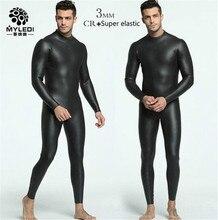 Ммтз GEND 3 мм CR + ультра упругой дайвинг серфинг гидрокостюм Для мужчин всего тела подводной охоты гидрокостюм для триатлона Кайтсерфинг комбинезон