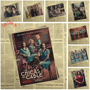 Cable Girls TV play Kraft Pape
