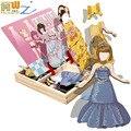 Деревянные игрушки, magneticMagnetic головоломки игрушки, детская развитие интеллекта образование игрушки