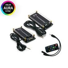 Материнская плата RGB концентратор Иллюзия музыкальным ритмом контроллер 5V 3Pin ASUS AURA контроллер синхронизации