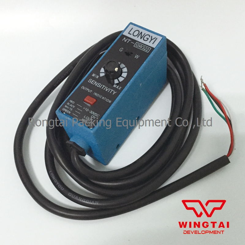 LONGYI  NT-GW322 Color Mark Sensor Photoelectric Sensors For Packing Machine yg 25 leveling photoelectric sensors