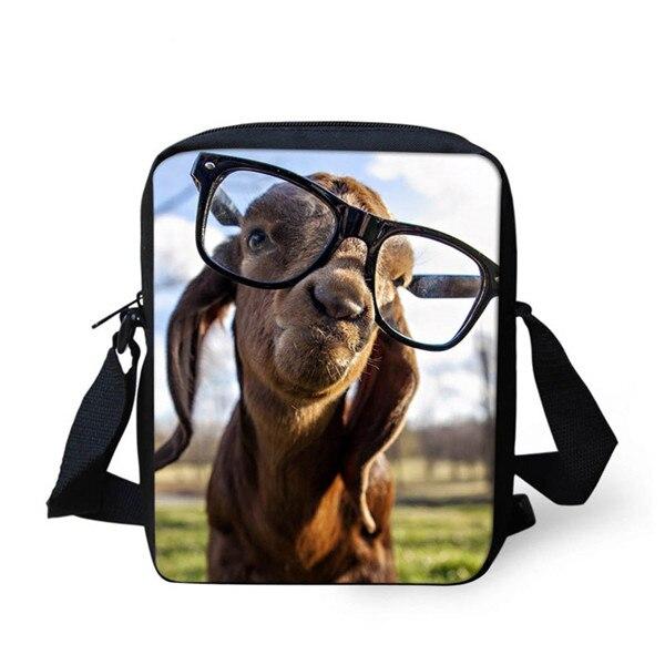 FORUDESIGNS/женская маленькая сумка через плечо с объемным рисунком собаки чихуахуа, модные женские сумки-мессенджеры, сумки через плечо - Цвет: Z1199E