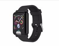 E04 Smart Band Fitness Tracker ECG+PPG Blood Pressure Heart Rate Monitor Waterproof Smart Watch for Xiaomi Android IOS VS H66