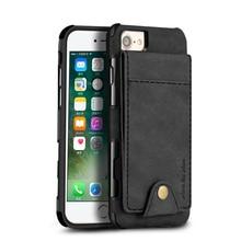 Тканевый чехол для iPhone 7 8 6 6 S Plus флип-бумажник для нескольких карт держатель Ткань Кожа iPhone X XR XS Max слот для карт чехол