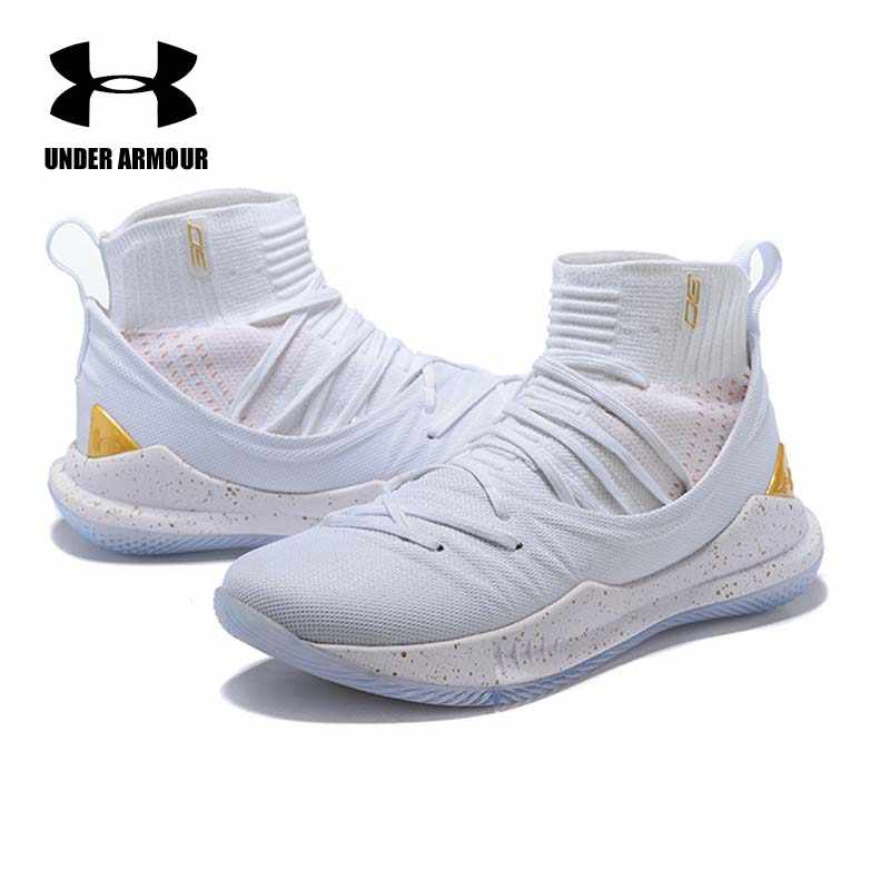496f9865c061 ... Under Armour Men Curry 5 Basketball Shoes stephen curry shoes tenis  basketball Fashion sock Sneaker Zapatillas ...