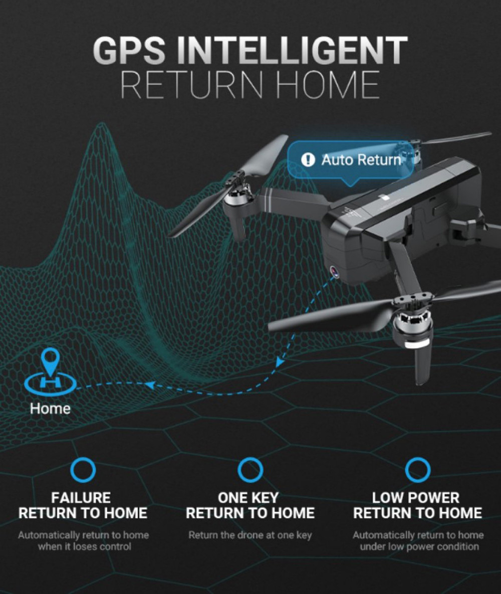 SJRC F11 GPS Drone With Wifi FPV 1080P Camera Brushless Quadcopter 25mins Flight Time Gesture Control Foldable Dron Vs CG033 4