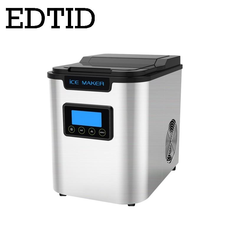 Nett Automatische Eismaschine Kommerziellen Mini Kugel Runde Ice Cube Block Die Maschine Kleine Bar Milch Tee Shop Eismaschinen Großgeräte