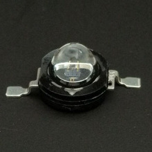 5PCS/LOT 1W high power infrared diode infrared led 850nm IR lamp for invisible surveillance CCTV Camera