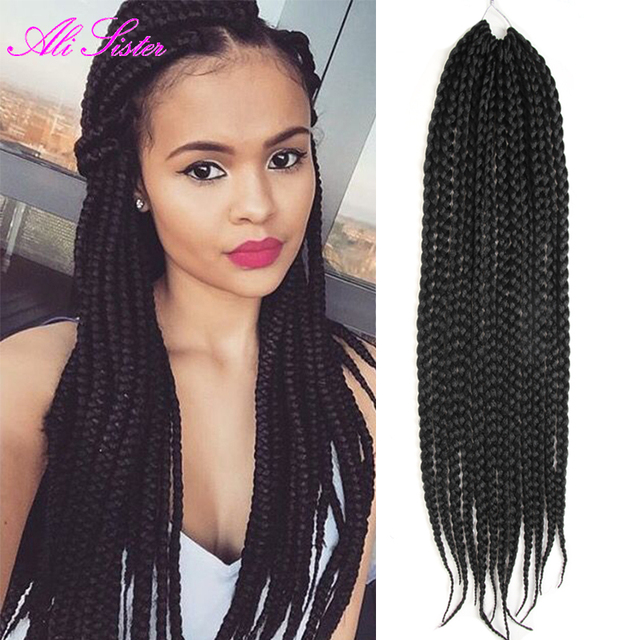 top 18 3x afro twist hair extension box braids hair african hair braiding synthetic hair weaves. Black Bedroom Furniture Sets. Home Design Ideas
