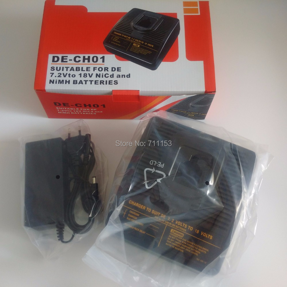 power tool battery Charger for  DEWALT 7.2V-18V Ni-Cd Ni-MH DC545K, DC720KA DC840K DW953 DW965 DE9096, DW9095, battery charger for bosch 24v 3000mah power tool battery ni cd 52324b baccs24v gbh 24v gbh24vf gcm24v gkg24v gks24v gli24v gmc24v gsa24v gsa24ve