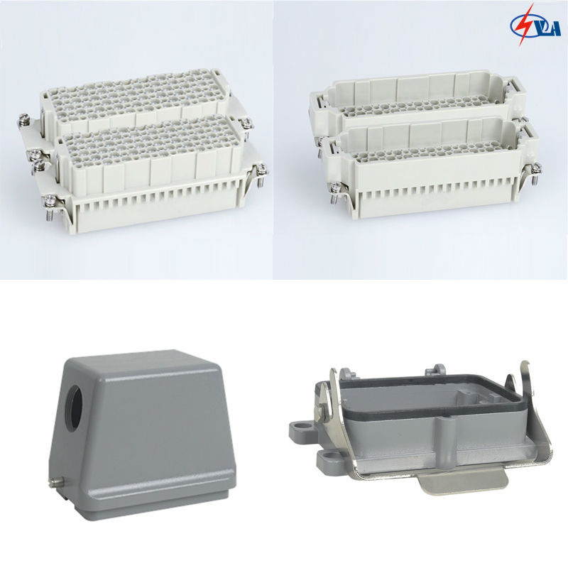 HDD-216 10A 216 pins car-styling heavy duty connector industrial multipole 216 girl