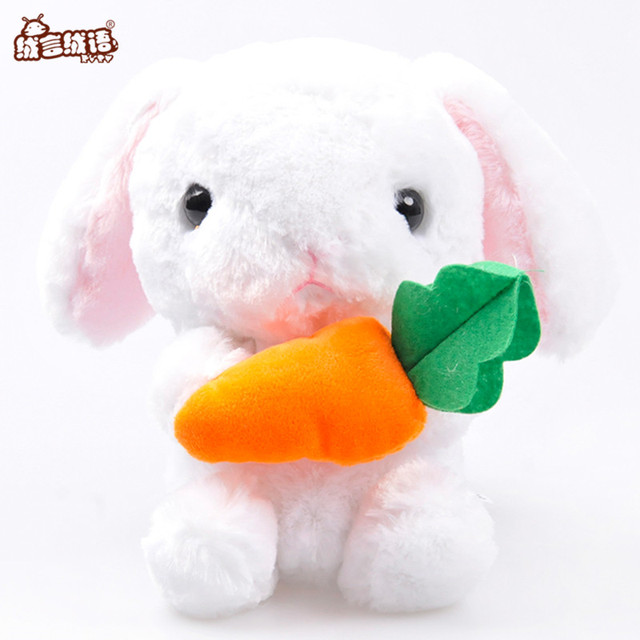 Ryry 4 Styles Kawaii Bunny Stuffed Animal Soft Plush Doll Cute