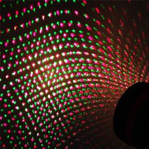 Image 4 - 屋外移動フルスカイスタークリスマスレーザープロジェクターステージランプグリーン & レッド LED ステージライト屋外風景芝生ガーデンライト