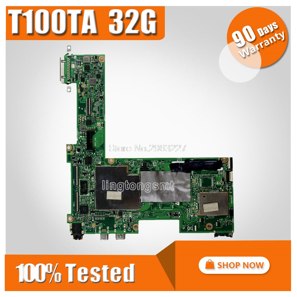 цена на T100TA for ASUS Mainboard 32G T100TA REV2.0 motherboard 100% fully tested