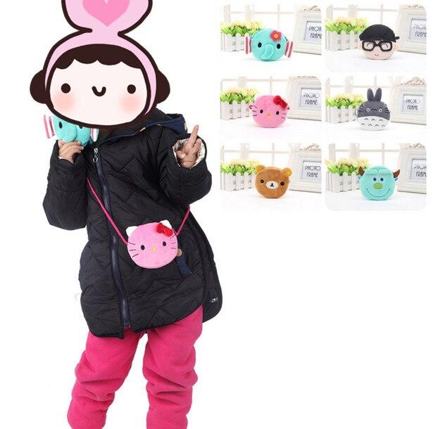 Kawaii NEW Mini Plush BAG , 10CM Plush Kid's Satchel BAG , Plush backpack , Hello Kitty , TOTORO Messenger BAG , Shoulder BAG
