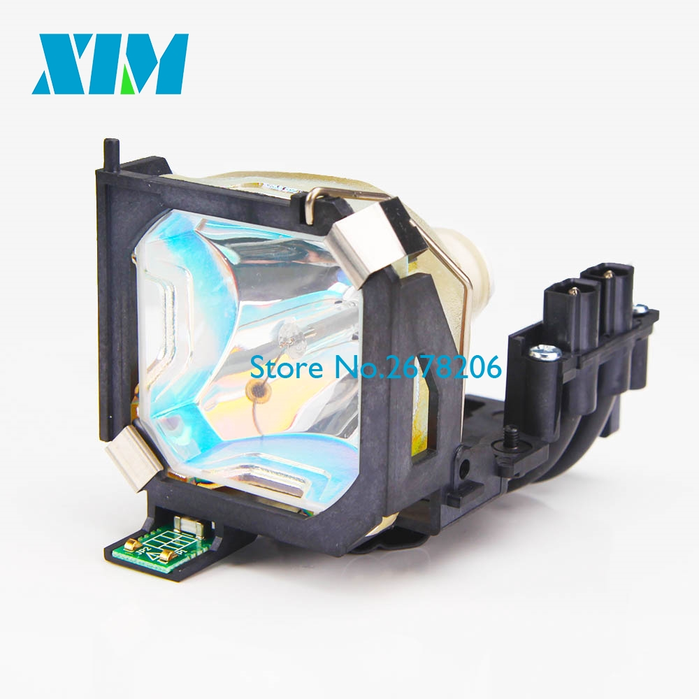 100% NEW Replacement Projector Lamp with housing ELPL10 / V13H010L10 / V13H010L1S for Epson EMP 510/EMP 510C/EMP 710/EMP 710C free shipping projector bare lamp elplp19 for epson powerlite 32 emp 32 emp 30 emp 52