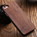 for iPhone SE 5S Natural Wood Hard Back Protective Case for Apple iPhone 5S SE 5 Shockproof Cover Stylish Bamboo Walnut Wood