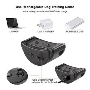 Image 4 - Paipaitek Dog Bark Collar No Shock Training Collar Sound Vibrate Bark Stop Collar for Small Medium Large Sized Dog Rechargeable
