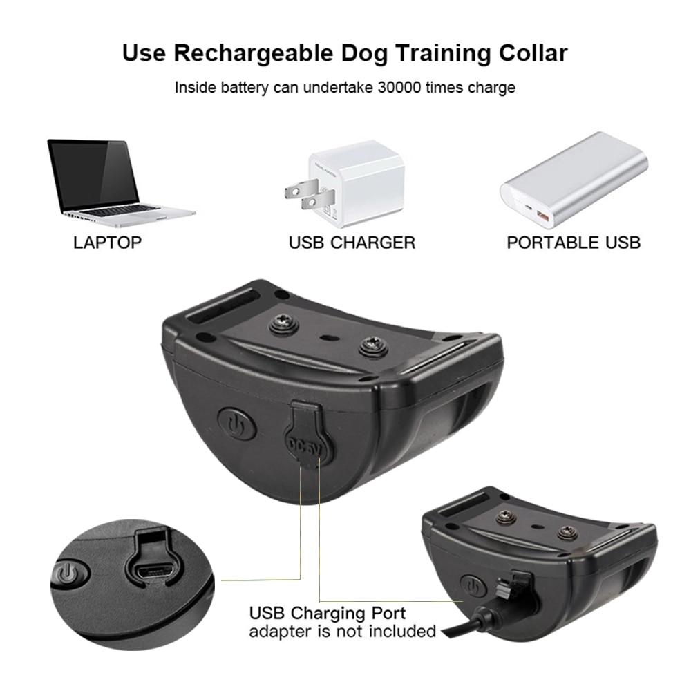 Image 4 - Rechargeable Anti Bark Collar vibration Bark collar humane no  shock dog vibration collar no bark collar vibrate dog bark stopBark  Deterrents