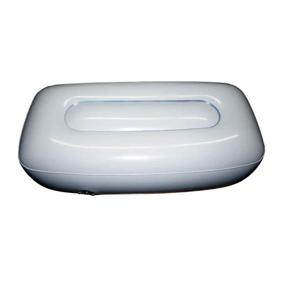 Mounchain PVC インフレータブル軽量エアクッションシートためインフレータブルカヤック漁船シート枕ラフティングビーチ 56*27*15 センチメートル