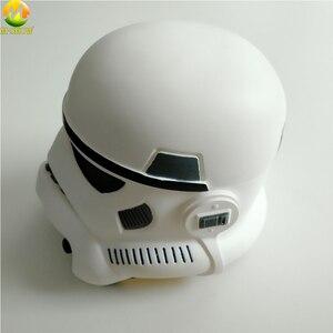 Image 4 - Darth Vader kask gwiezdne wojny maska cesarski szturmowiec Halloween w stylu Cosplay akcesoria na imprezę