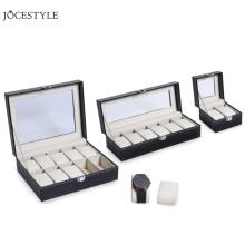 2/6/10 Grids PU Leather Watch Box Case Professional Holder O