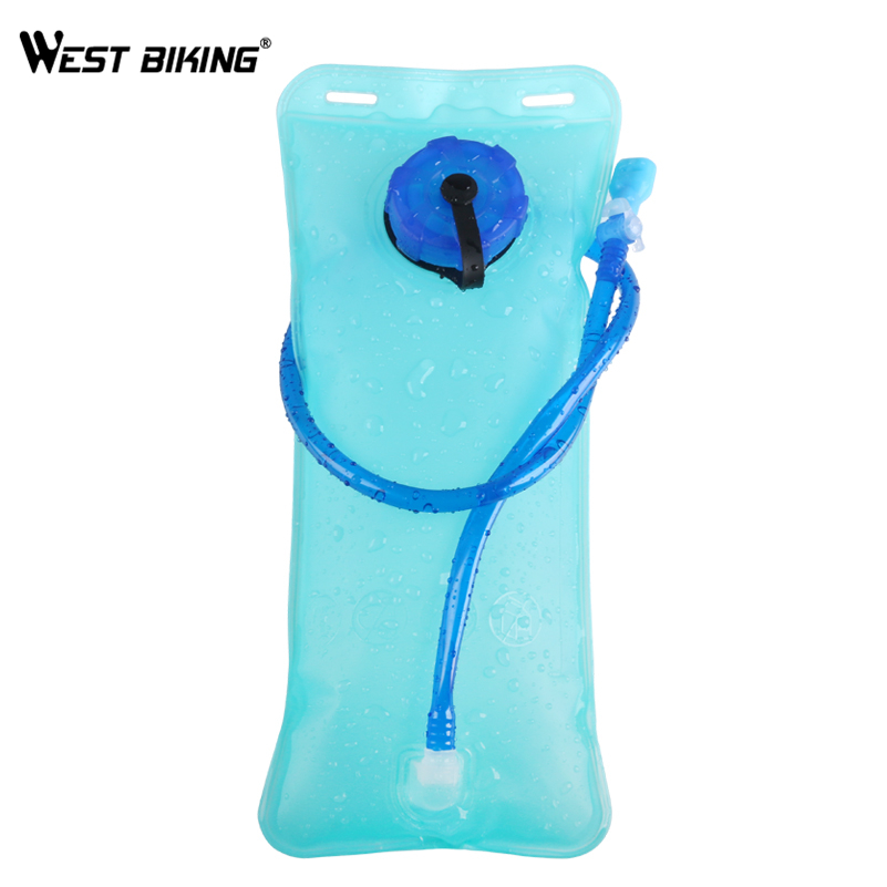 WEST BIKING 2L Water Bag Bicycle Hydration Bladder TPU Cycling Hiking Climbing Outdoor Sport Camping Riding Camelback Water Bags