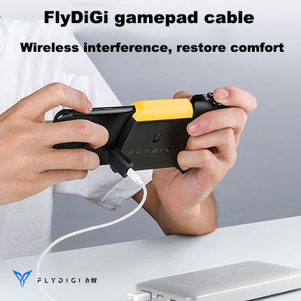 Flydigi pubg mobile gamepad transfer cable Suitable for ios/smartphone for WASP/Wee series gamepads Compatible(China)