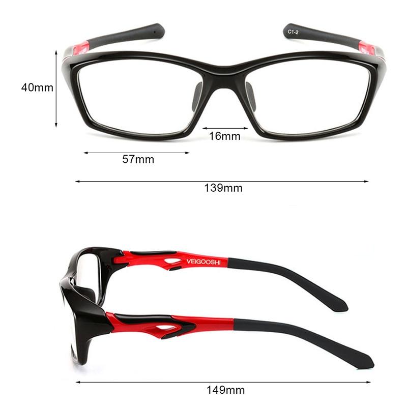 Vazrobe Quality TR90 Glasses Frame Men Football/basketball ...