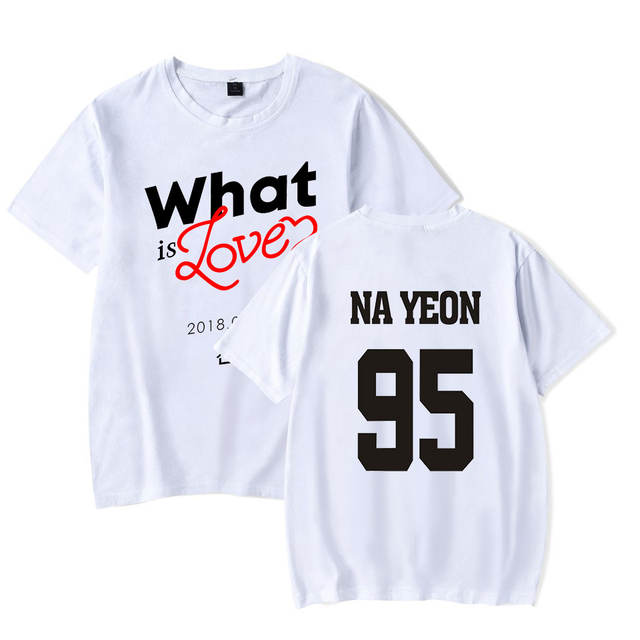 TWICE WHAT IS LOVE T-SHIRT (6 VARIAN)