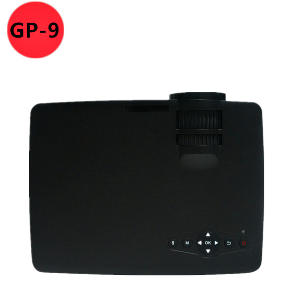 800 Lumens Home Theater Mini Portable Led Multimedia: 2015 NEWEST GP 9 MINI Projector 800 Lumens HD Home Theater