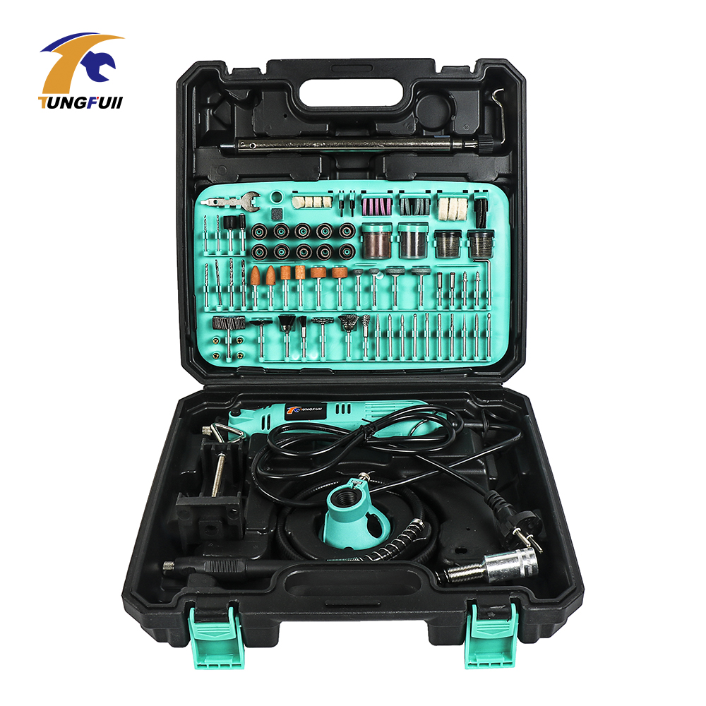 Tungfull Electric Drill Drilling Machine Woodworking Drills Engraver Kit Tools Grinder Flex Shaft Machine For Dremel Mini Drill-in Electric Drills from Tools