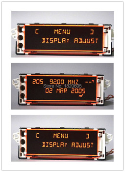 5Pcs Original Red Screen Support USB Aux Display monitor 12 pin for Peugeot 307(Some model) 408(Some model) screen citroen C4