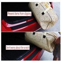 Car Rear Bumper Adhesive Tape Sticker Prevent Car Scratches For AUDI A1 A3 A4L A4 A5