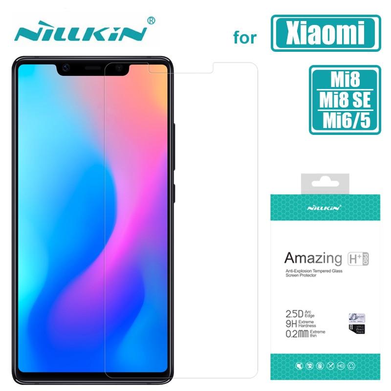 համար Xiaomi Mi 9 Lite Mi9T Mi9 Mi8 ապակե Nillkin 9H HD - Բջջային հեռախոսի պարագաներ և պահեստամասեր - Լուսանկար 2