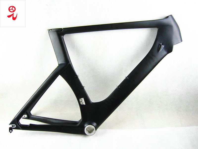 Chinese Cheap price time trial <font><b>carbon</b></font> <font><b>frame</b></font> triathlon 700C <font><b>carbon</b></font> <font><b>tt</b></font> <font><b>bike</b></font> <font><b>frame</b></font> with free shipping image