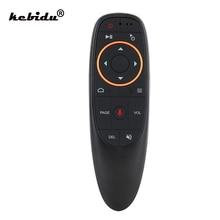 Kebidu 2.4Ghz Draadloze G10 Fly Air Mouse G10s Voor Gyro Sensing Game Met Voice Control Mini Afstandsbediening Voor android Tv Box