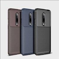 Voor Xiao mi mi x 3 case voor Mi 8 lite case carbon fiber Textuur Shockproof Soft tpu Back Cover voor mi max 3 6x shell Rode Mi note 6
