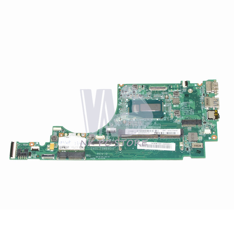 US $140 25 15% OFF|NOKOTION Notebook PC Motherboard For Lenovo Ideapad U330  Main Board System Board i3 4010U CPU DA0LZ5MB8D0-in Motherboards from