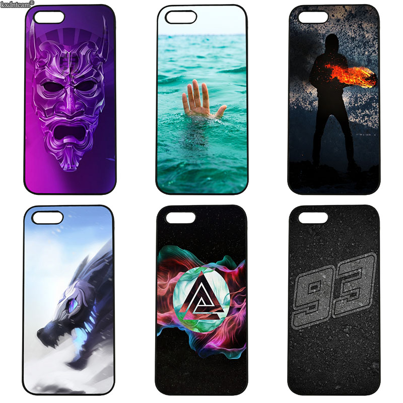 Division Dark Loves Art for iphone 8 7 6 6S Plus X 5S 5C 5 SE 4 4S iPod Touch 4 5 6 Shell Phone Cases Hard PC Plastic Back Cover