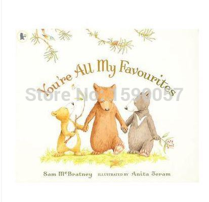 Free shipping 2015 New Hot Sale You're All My Favourites the original English picture books children's books in English водолазка liu jo uomo m217p202almadolce camel