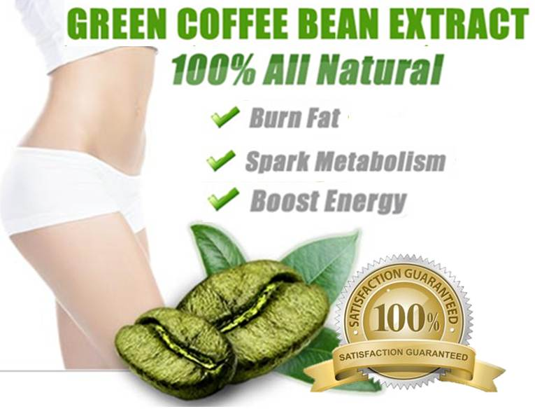 2 Packs 100 Pure Nature Green Coffee Bean Extract 30caps For