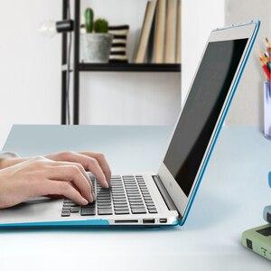 Image 2 - Pour MacBook Air 13 étui 11 pro retina 12 15 barre tactile couverture dur mat étui mat couverture translucide