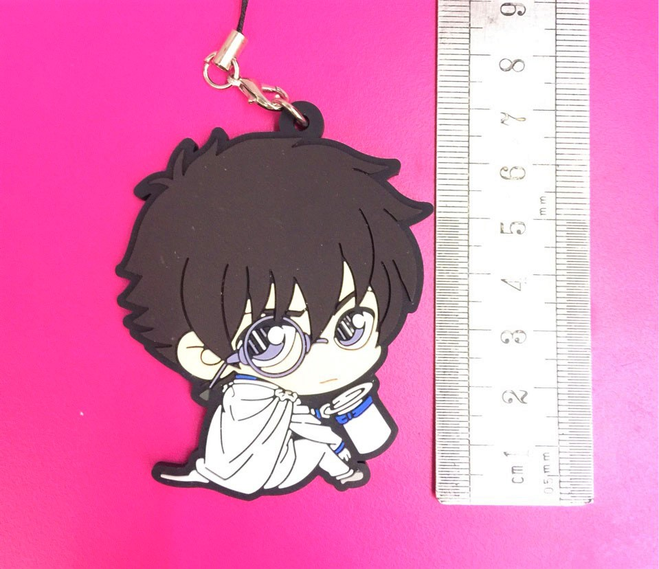 G734 Detective Conan Anime keychain Jimmy Kudo Kaltou Kiddo Hattori Heljl Kazuha Ran Mouri Rubber strap/mobile phone charms-in Key Chains from Jewelry ...