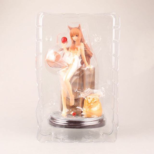 23cm Sexy Spice and Wolf Anime Action Figure PVC Collection toys for christmas gift free shippping