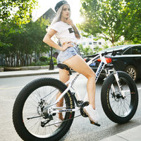 Best price 7/21/24/27 speed beach snow bike 4.0 super wide tire mountain bike adult male and female students bicycle