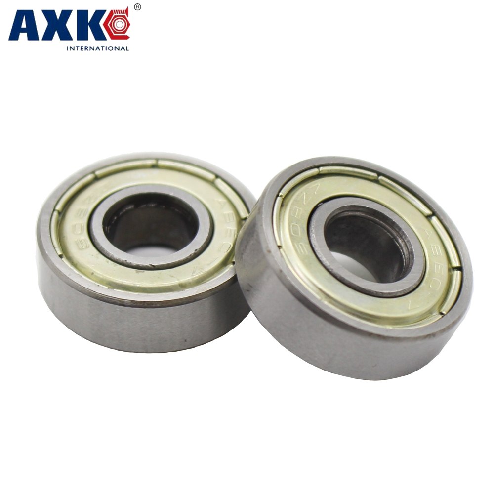 10PCS Ball Bearing 608zz 623zz 624zz 625zz 635zz <font><b>626zz</b></font> 688zz 3D Printers Parts Deep Groove Flanged Pulley Wheel <font><b>rodamientos</b></font> image