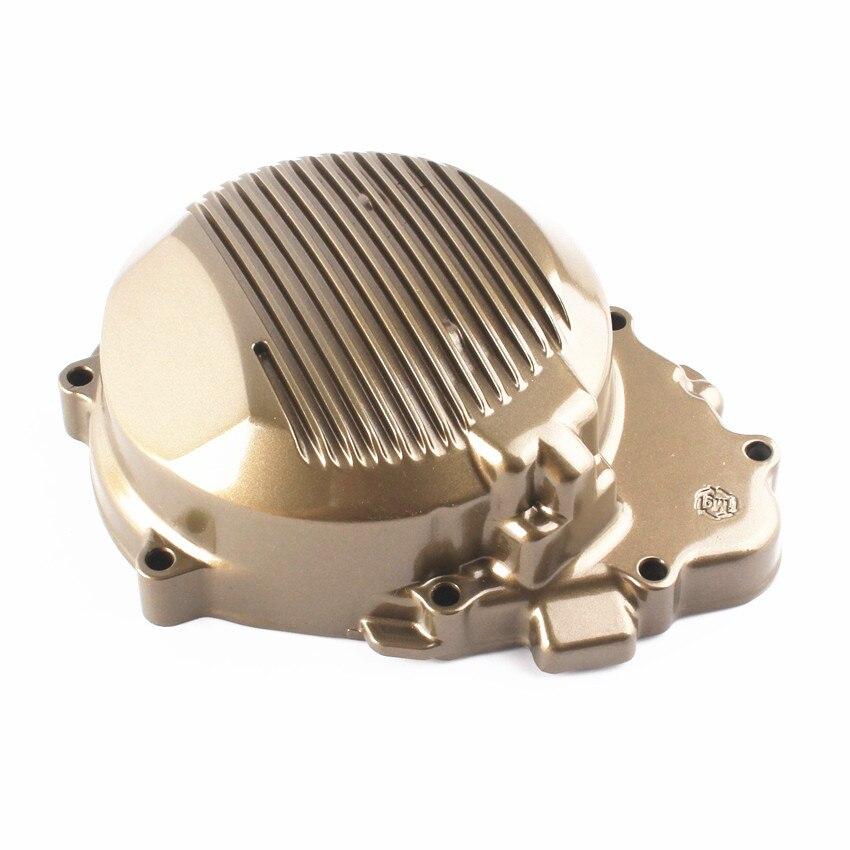 Двигатель статора крышки картера для Kawasaki запросу zx6r 1998 1999 2000 2001 2002 Мото аксессуары черный