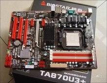 Оригинал настольных motherbaord TA870U3 + материнская плата DDR3 AM3 настольных