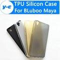 BLuboo Maya Caso Venda Quente 100% Original Matte TPU Silicone de volta Caso Capa Protetora Para O Caso Bluboo Maya 5.5 Polegada Móvel telefone